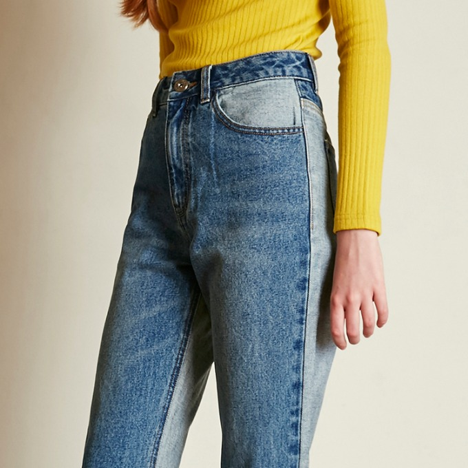INSIDE OUT DENIM PANTS [BLUE]